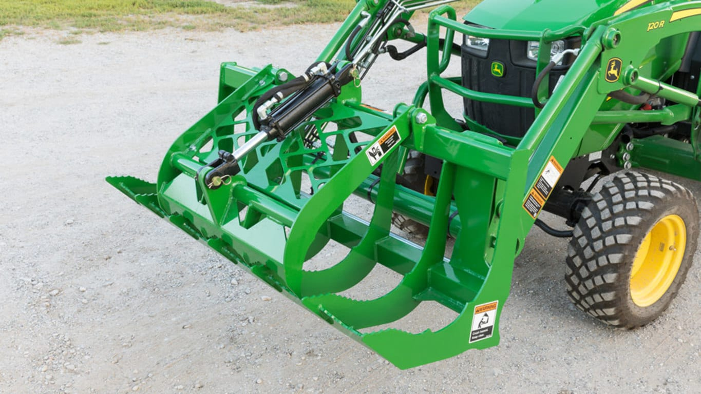 field image of a Frontier av20f series root grapple