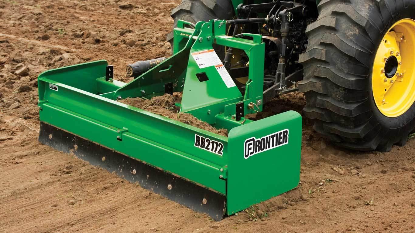 Landscaping Equipment | Frontier LL13 Box Scrapers | John Deere CA