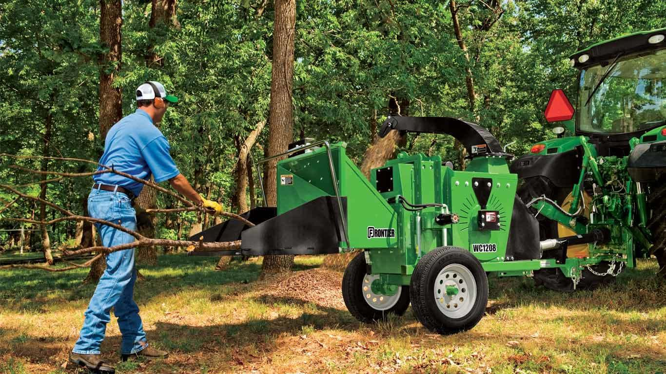 Landscaping Equipment | Frontier WC12 Wood Chippers | John