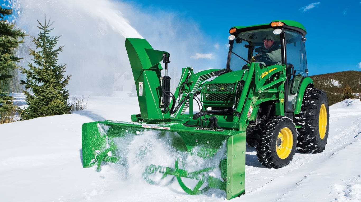 Snow Removal Equipment | Frontier SB21 loader-mount-snowblowers