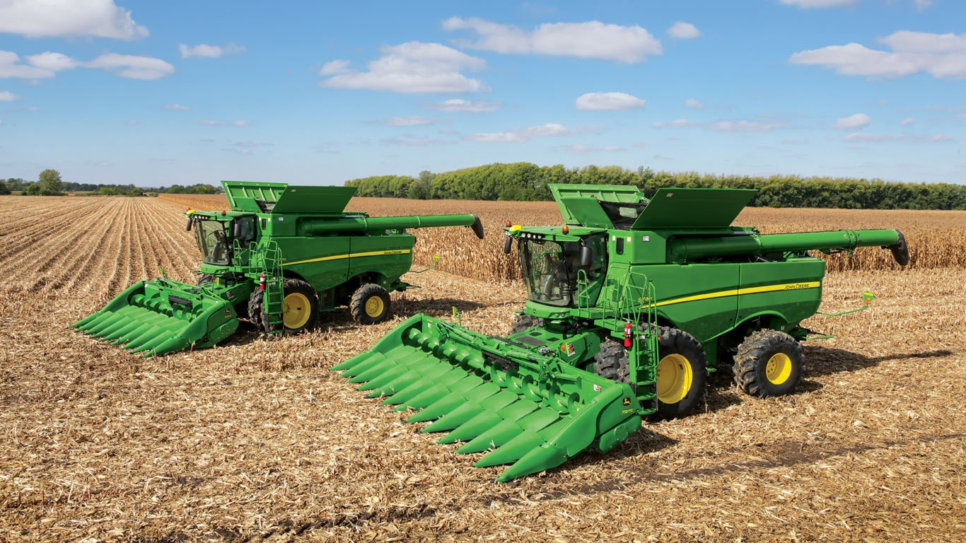 700c series corn heads