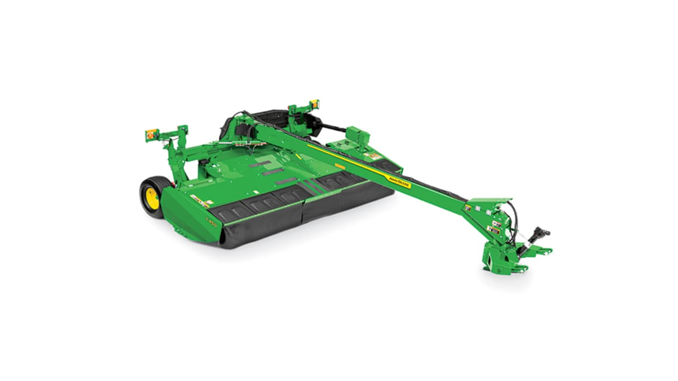 studio image of C450 mower-conditioner