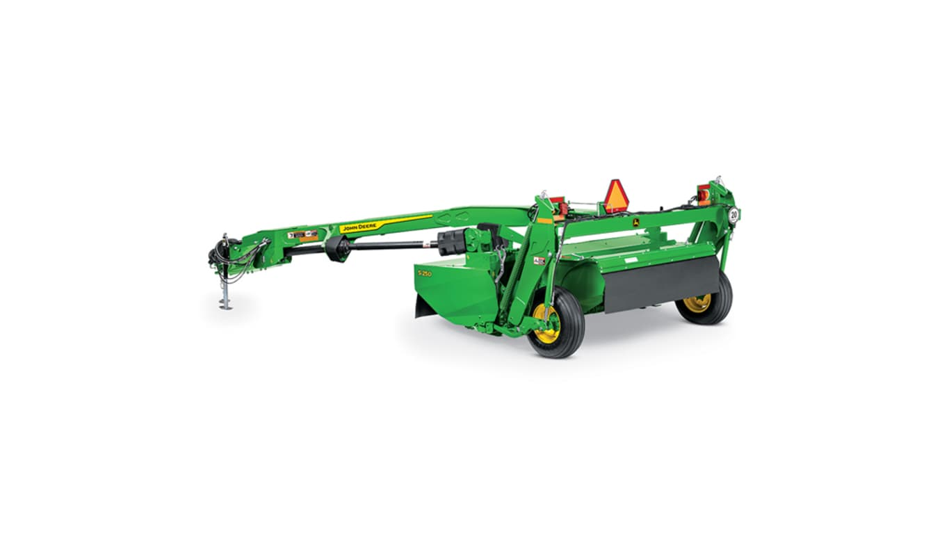 studio image of s250 mower conditioner