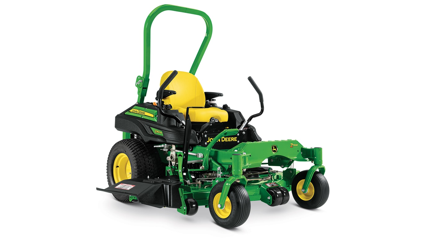 John Deere Zero Turn Mowers : Commercial mowers ztrak™ z m zero turn john