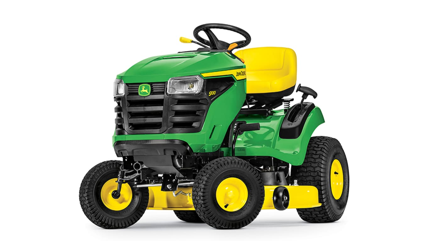 Studio image of S100 Lawn Tractor