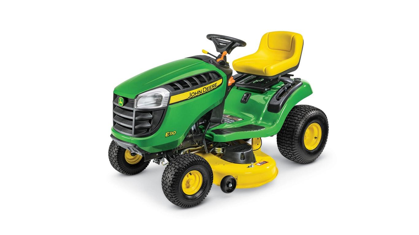 John Deere 100 Garden Tractor Attachments : Lawn tractor e hp john deere us