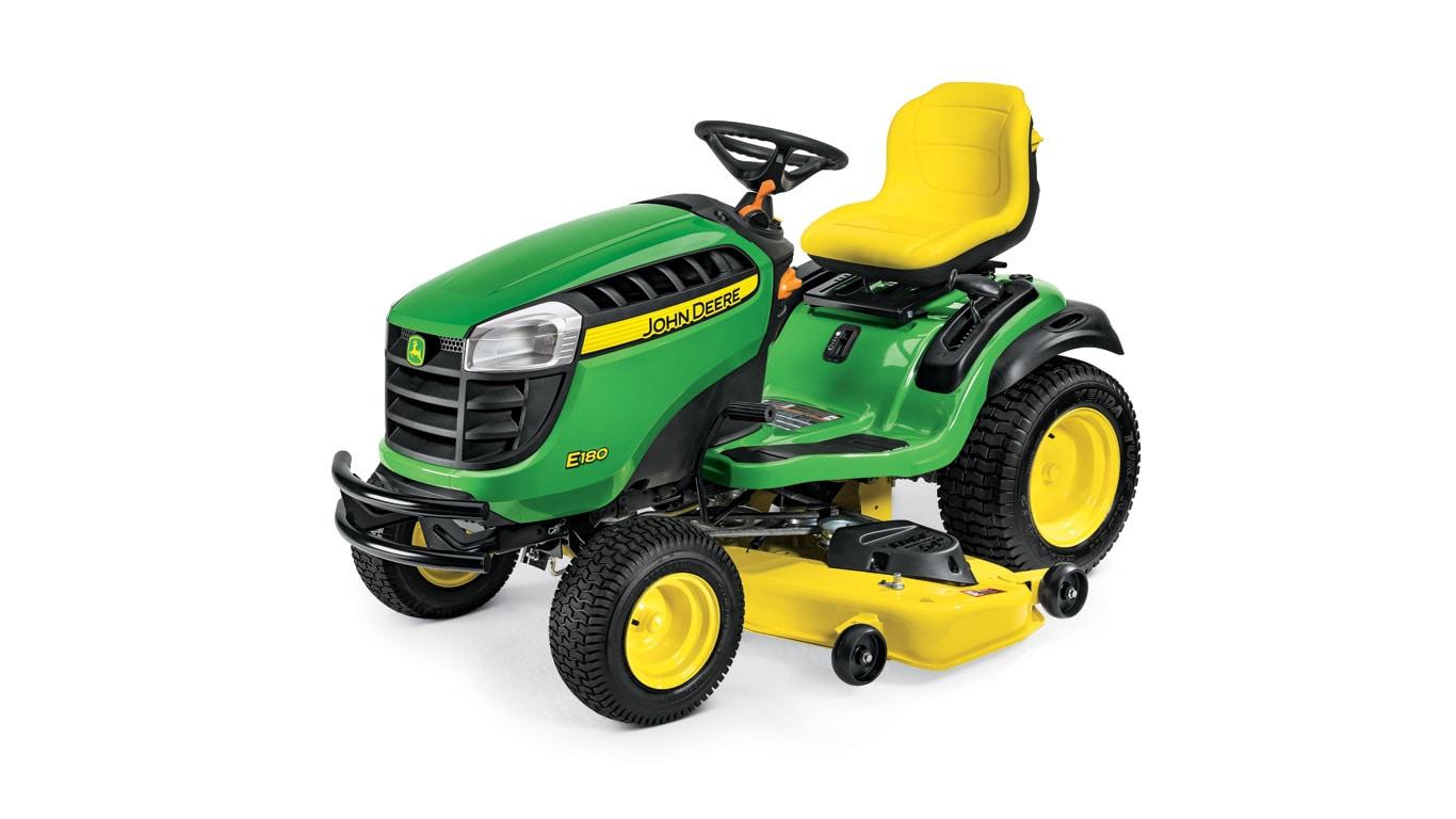Lawn Tractor | E180 | 25 HP | John Deere CA