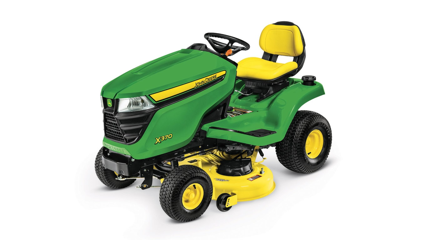 x300 select series lawn tractor x350r john deere ca. Black Bedroom Furniture Sets. Home Design Ideas