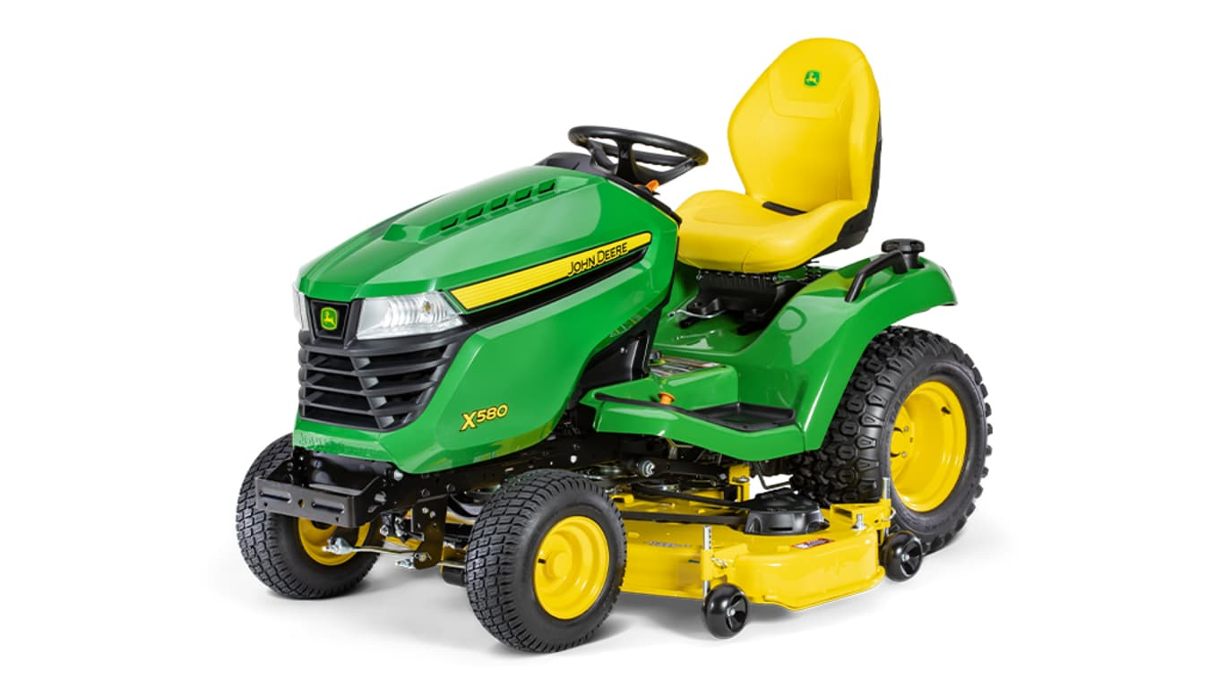 Studio image of X580, 54-in. Lawn Tractor