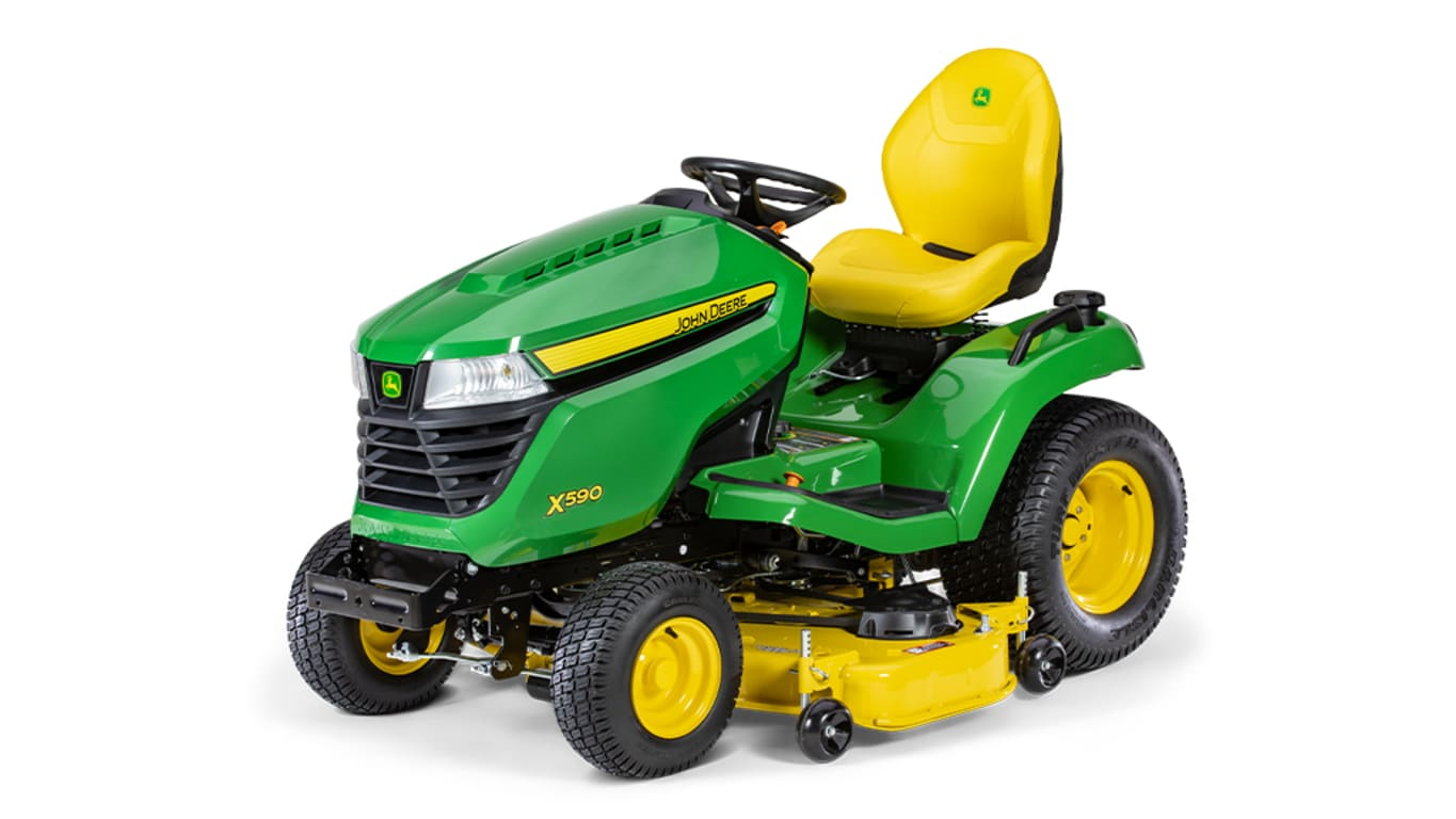 Studio image of X590, 48-in. Lawn Tractor