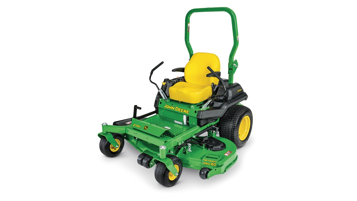 studio image of the Z735E ZTrak™ mower