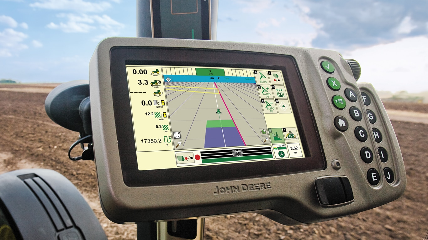 Guidance Greenstar 2 1800 Display John Deere Ca