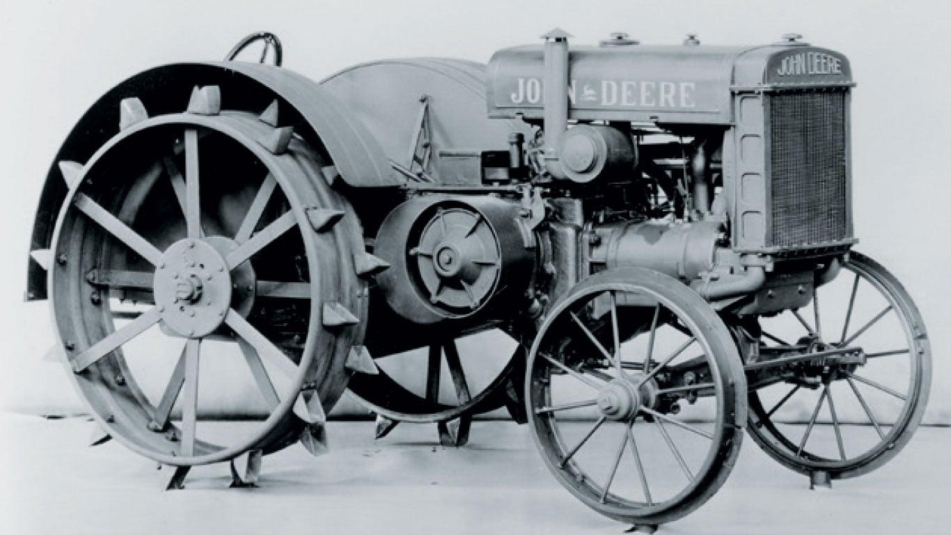 "Model ""D"" tractor"