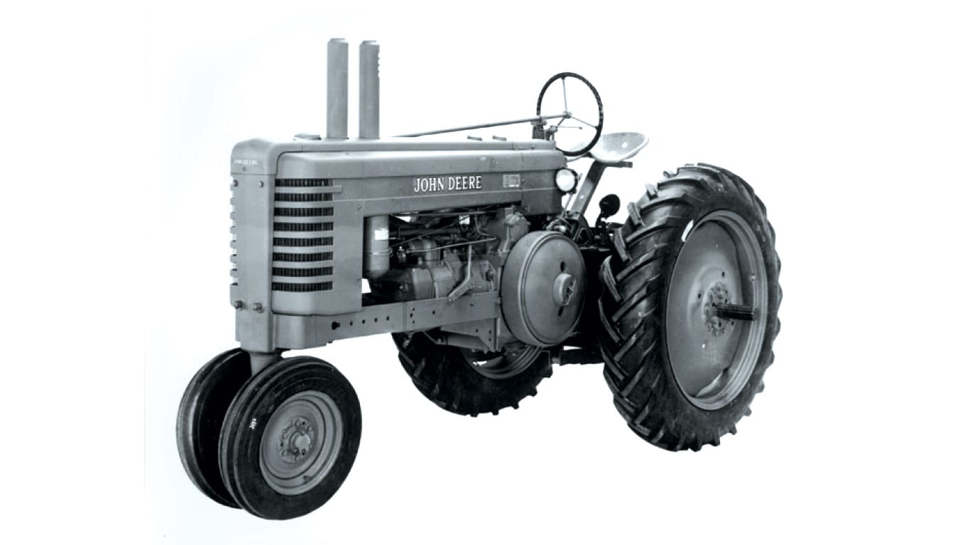 "Model ""A"" tractor"