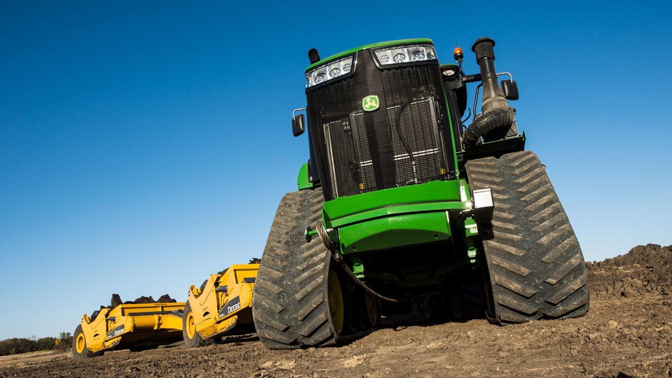 Scraper Special Tractors | 9520RT | John Deere CA