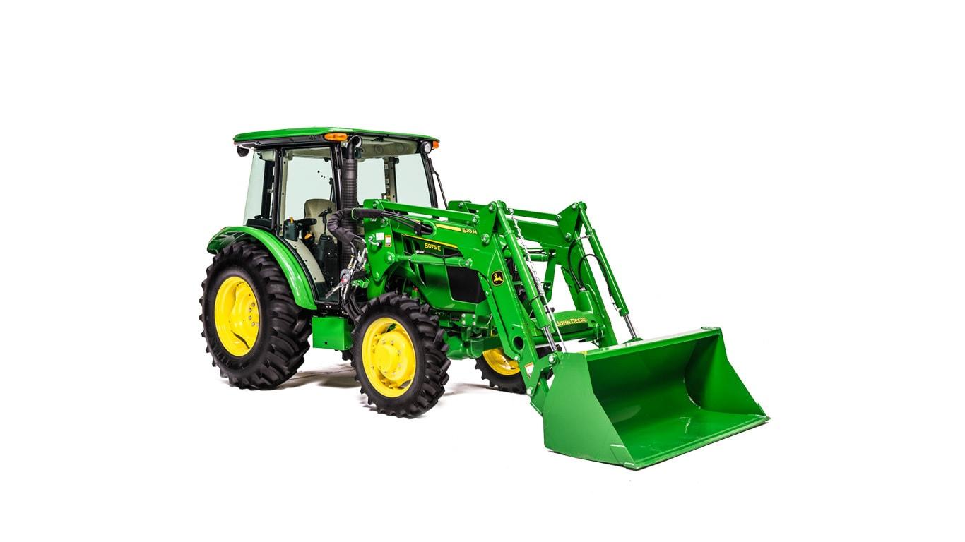 5 Family Utility Tractors 5075e John Deere Ca