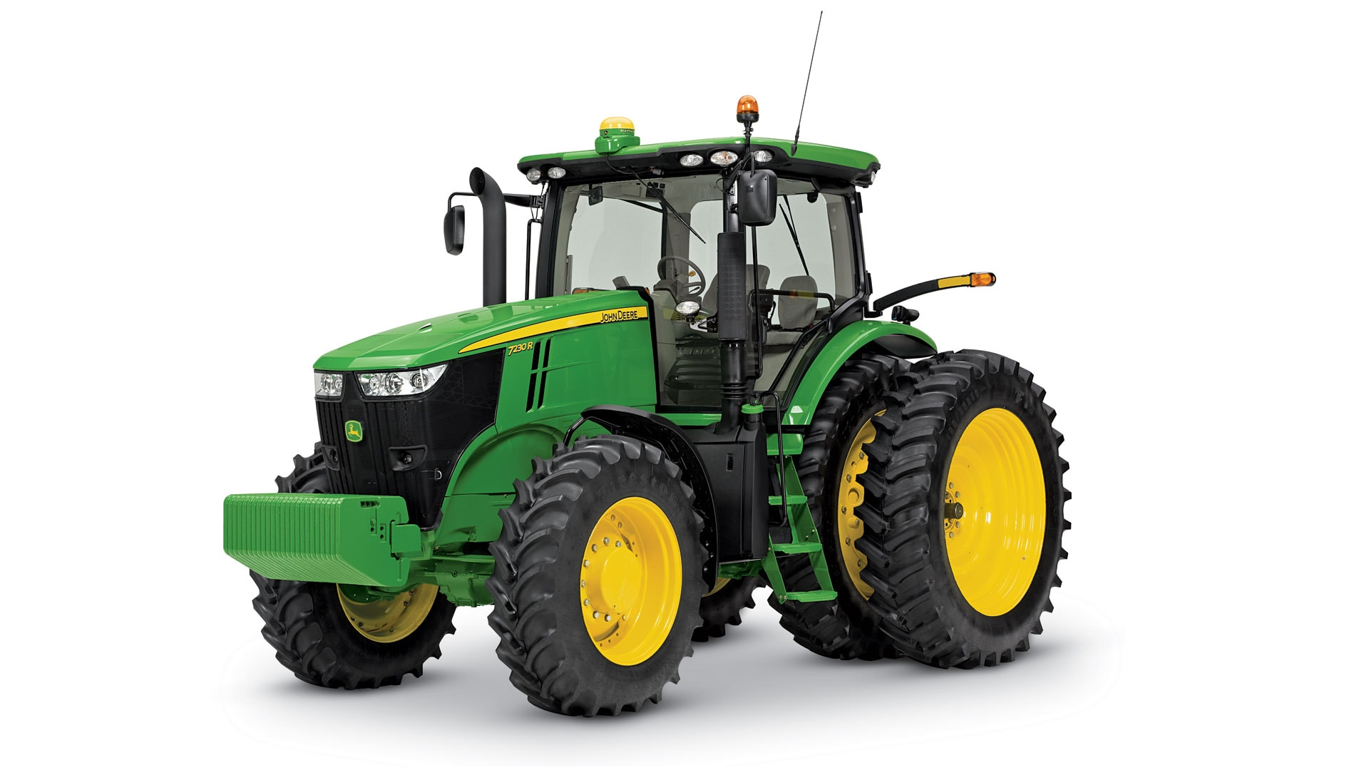 View the 7R Series Tractors