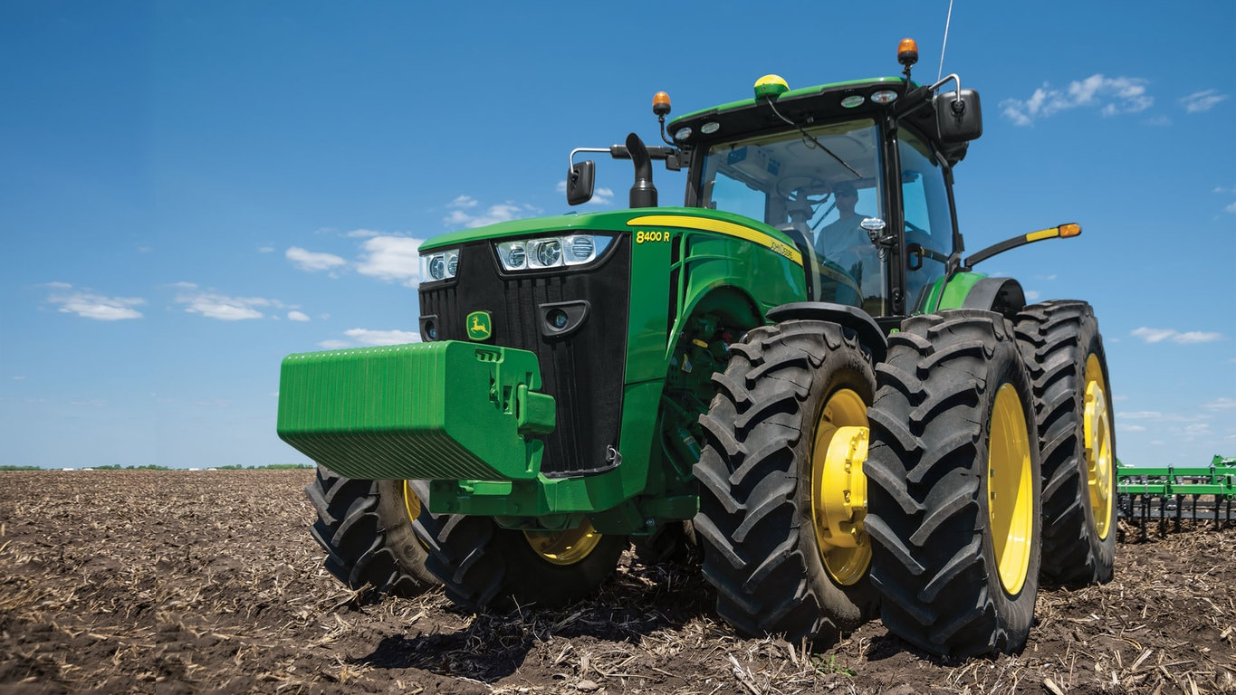 Photo of 8R tractor