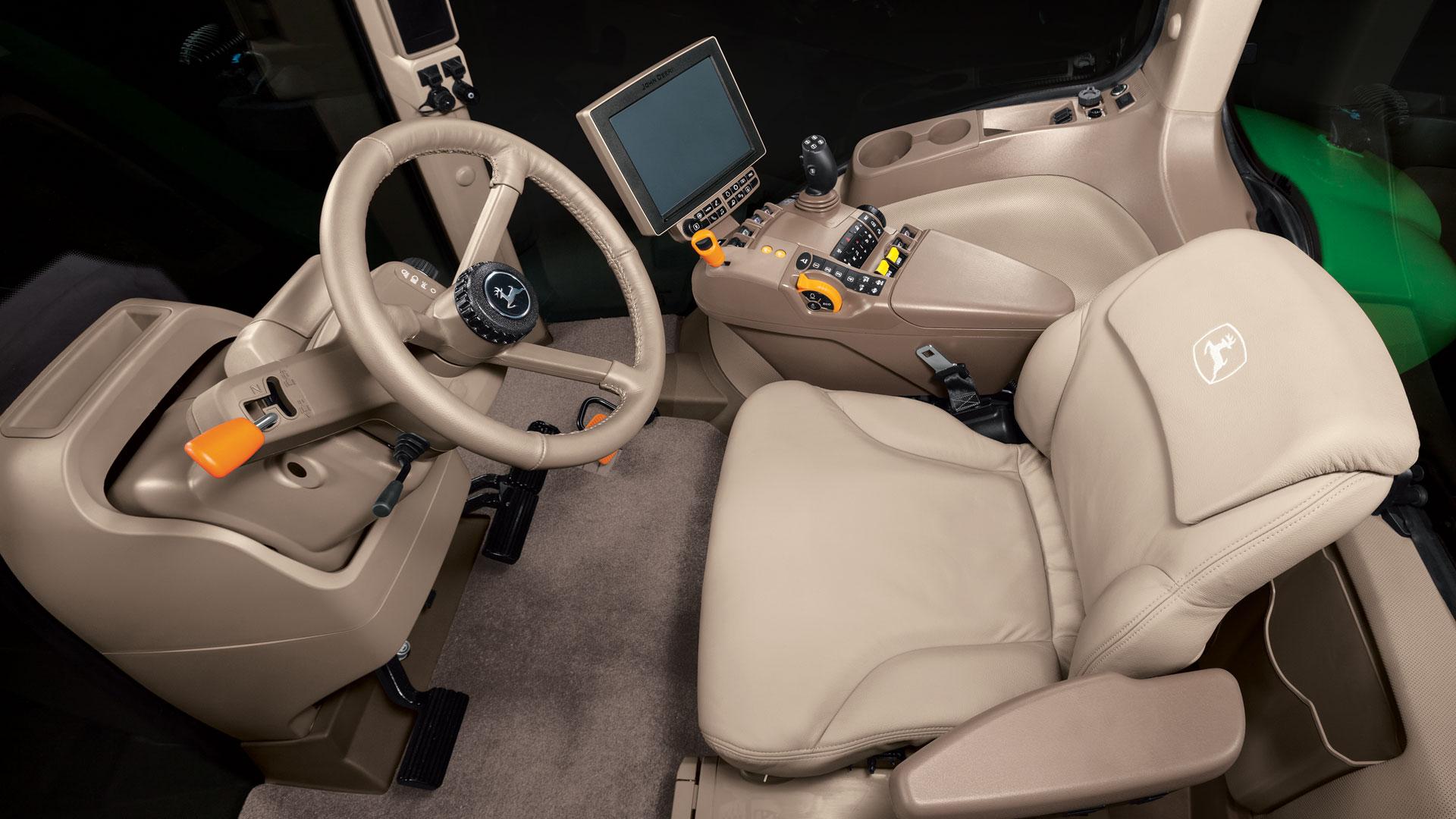 Row Crop Tractors 8295r John Deere Ca Mower Drive Belt Diagram Car Interior Design Run In Comfort
