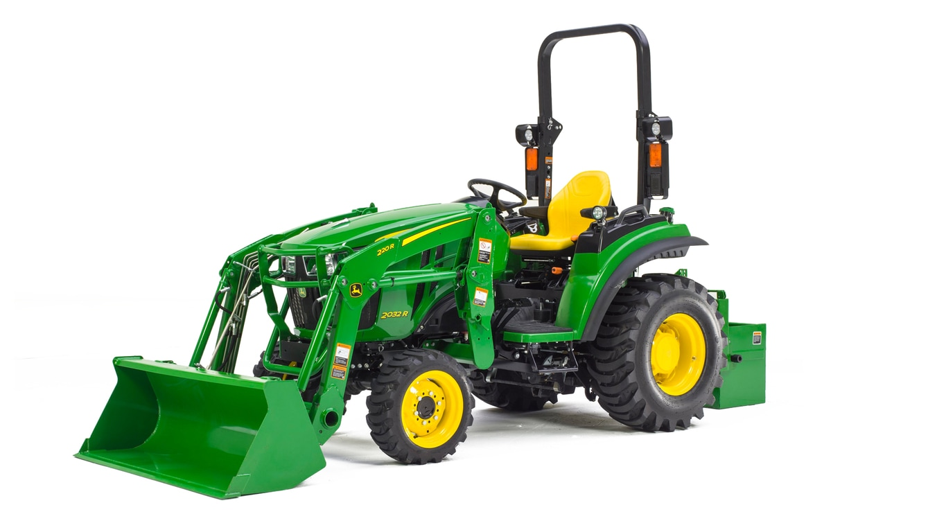 Compact Utility Tractor 2032r John Deere Ca New Holland Wiring Diagrams 75b 2032rcompact
