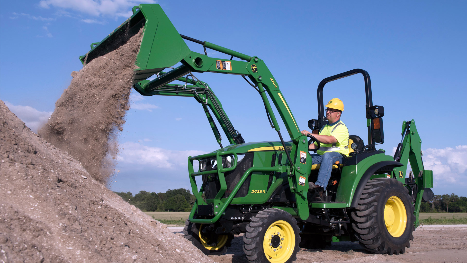 Explore the 220R Quik-Park™ Loader Capabilities