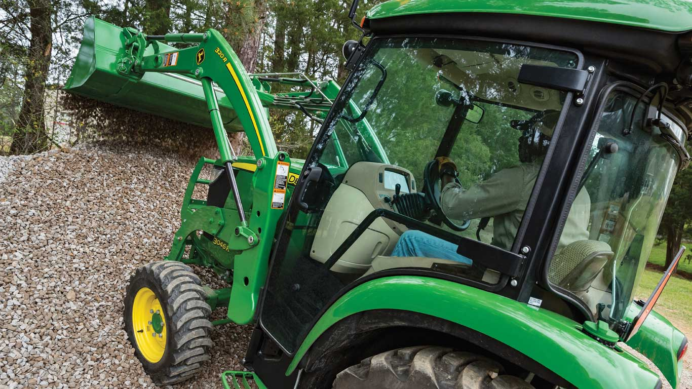 3-Family compact utility tractor