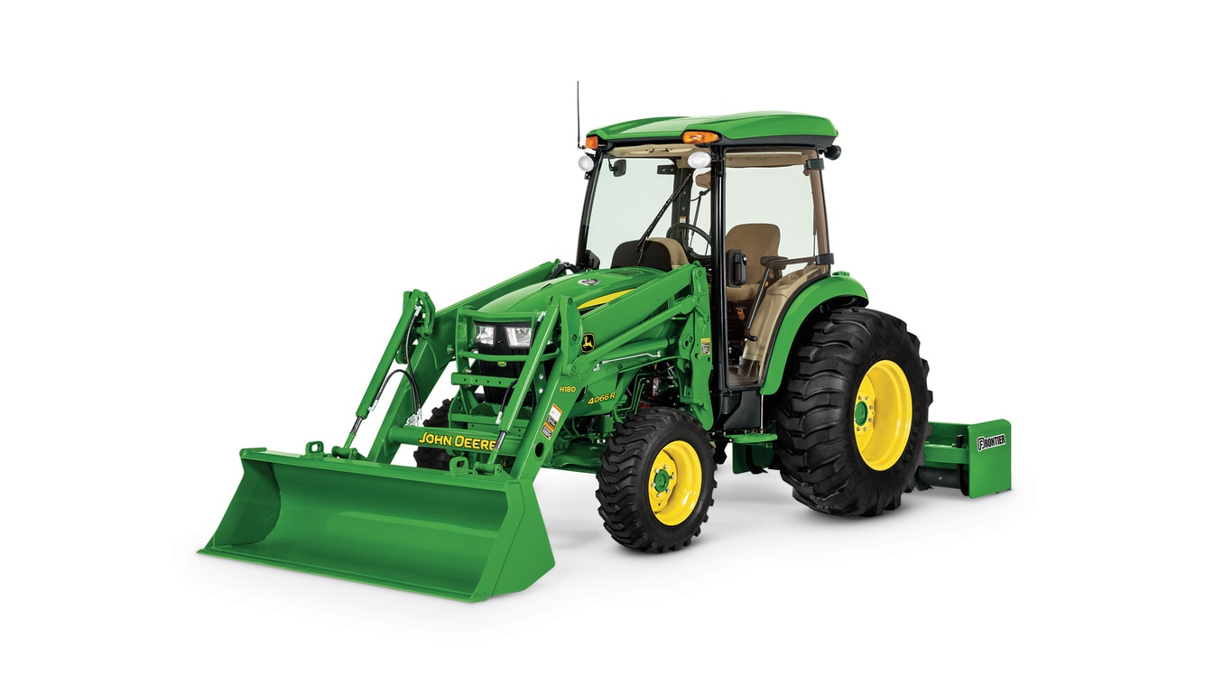 studio image of a 4066R tractor