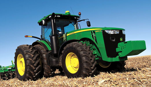 John Deere is Breaking New Ground.