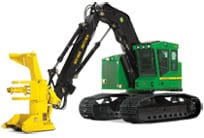 Discover Tracked and Wheeled Feller Bunchers