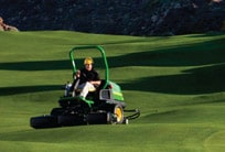 Follow the link to learn more about John Deere Golf products and equipment