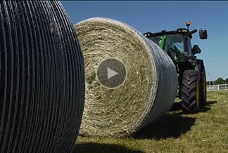 Follow link to baler attachments video.