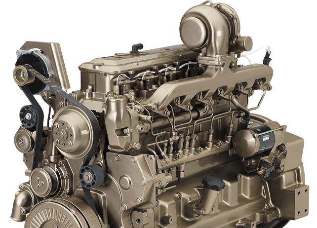 6068H 6.8L Gen-Set Diesel Engine 153 kW (205 hp)