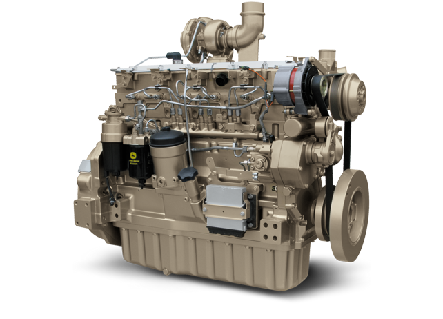 6090H 9.0L Gen-Set Diesel Engine 253 kW (339 hp)