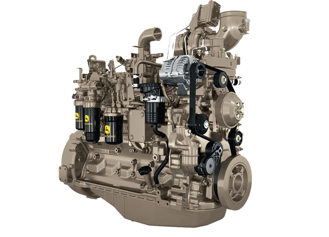 6068H 6.8L Gen-Set Diesel Engine 164 kW (220 hp)