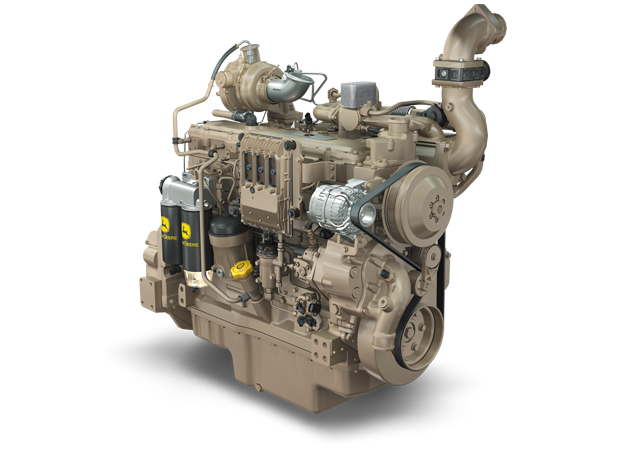 6090H 9.0L Gen-Set Diesel Engine 237 kW (318 hp) @ 1800 rpm