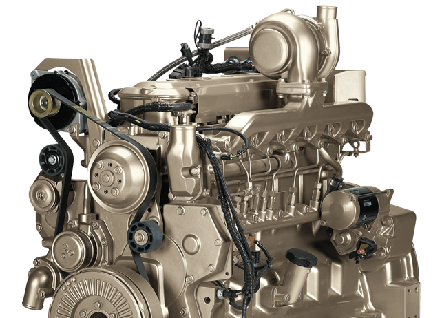6068H 6.8L Engine 168 kW (225 hp)