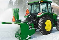 Follow the link to learn more about snow removal equipment from John Deere