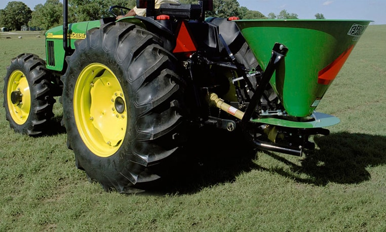 John Deere Broadcast Spreaders Seeding Equipment Johndeere Com