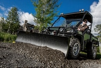 Follow link to Gator Utility Vehicles Attachments page.