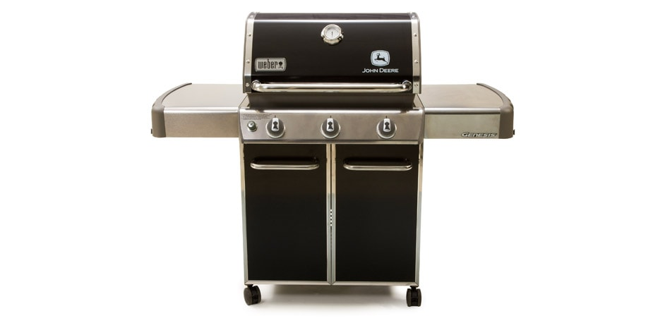 Studio image of a John Deere Gas Barbecue Grill