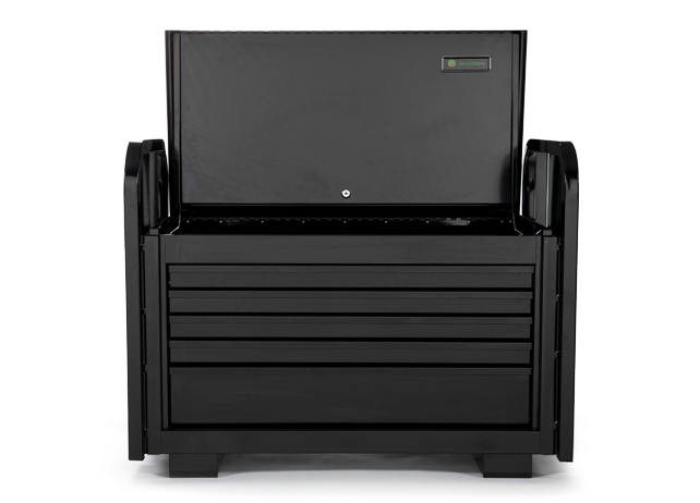 AC-3615RB-B 36-inch-wide, 5-Drawer Extra-Heavy-Duty Road Box Black