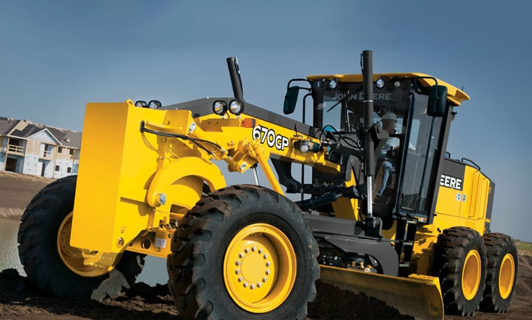 Follow the link to learn more about our model 670G/GP Motor Grader
