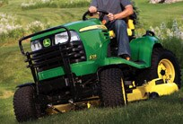 Follow the link to learn more about John Deere Riding Mowers