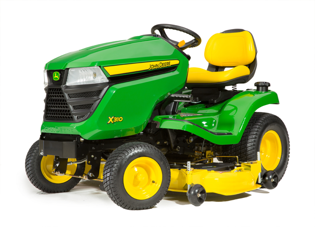 Lawn Tractor | X310 with 42-in  Deck | John Deere CA