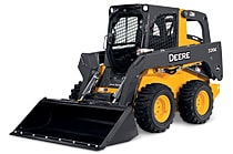 Image of a John Deere 326E Skid Steer