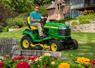 Follow link to savings offer for X700 Signature Series Tractors