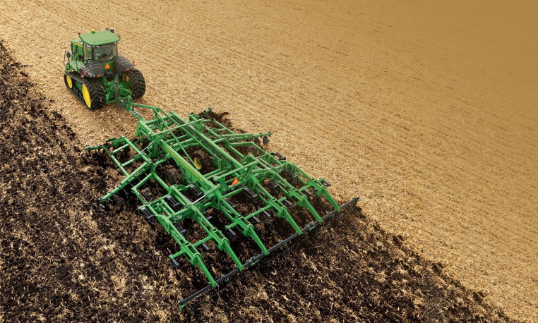 See more information on the combination ripper from John Deere