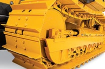 Image of John Deere construction equipment undercarriage